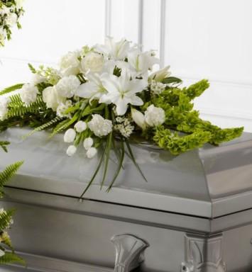 Cubre caja fúnebre